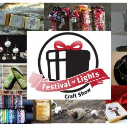 Join us for the Festival of Lights Craft Show November 29th