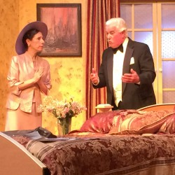 Beverly Mann and Denn Harrington in Plaza Suite