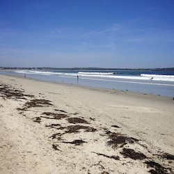 Pull on the bikini and enjoy Maine's clean beaches