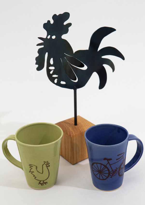 Kitchen companions: Brighten their kitchen decor with one-of-a-kind pieces of functional art.