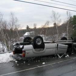 Woman suffers serious injuries in Saco crash
