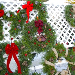 Wreath-making program provides employment leading into Christmas season