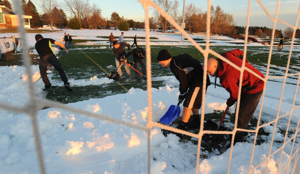 Image result for husson sports fields winter