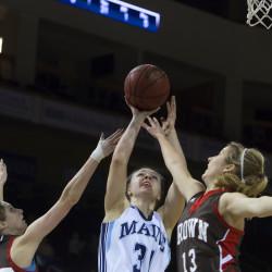 Charles sparks UMaine women's basketball team past New Brunswick