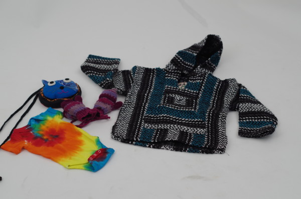 Fancy duds: Mexicali Blues has funky clothing for hippie children of all ages!