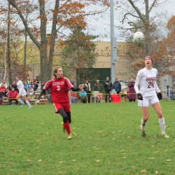 Mount Ararat girls soccer team battles by Hampden, to face Bangor for regional title