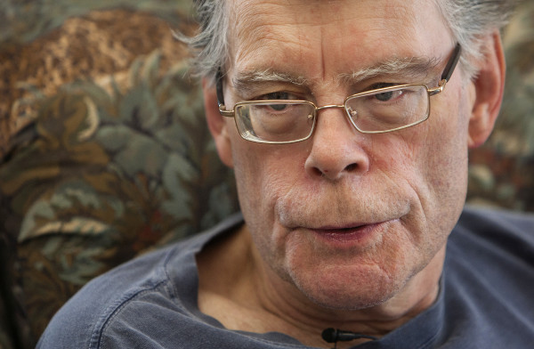 BDN's John Holyoke talks with Stephen King talks at his office in Bangor.