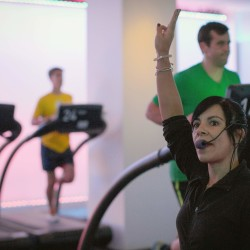 Fitness centers catering to baby boomers offer '60s tunes, seated classes