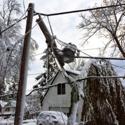 Maine utilities won't know costs of ice storm damage for several weeks