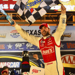 Johnson dominant at Indy, wins fourth Brickyard 400