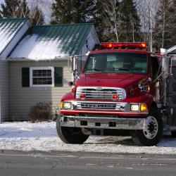 Gasoline used in woodstove blamed for Augusta fire, burns