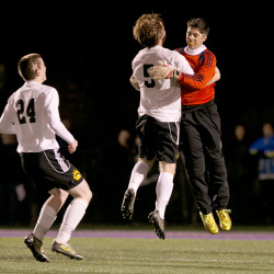 Maranacook defeats Madawaska 2-0 to capture boys Class C soccer title