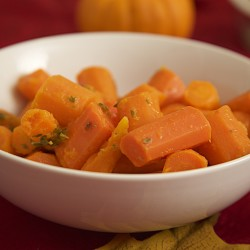 Lemon Thyme Carrots.
