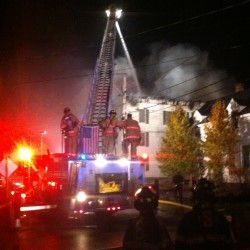 Fire ravages two buildings in Saint John, New Brunswick, leaving 14 homeless