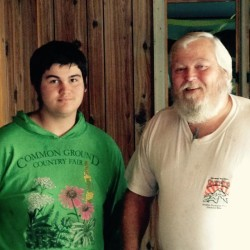 A fundraiser will be held Saturday in Searsmont to benefit Bob Perol (right) and his teenaged son, Cody, who lost their dog and all their possessions in a fire on Nov. 23. The benefit, which will include a dinner, auction and music, will begin at 5 p.m. at the Abundant Grace Ministry on the Brierly Road.