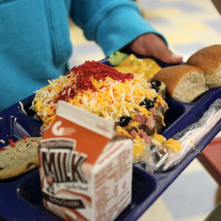 As one Maine school excels on healthy lunches, others lack equipment to meet new nutritional guidelines