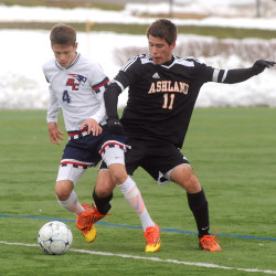 Bangor Christian boys soccer team tops Ashland for 4th straight Eastern Maine 'D' title