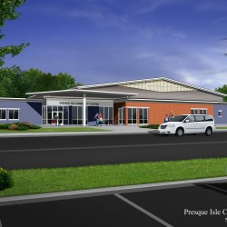 Fundraising to begin for revised Presque Isle community center