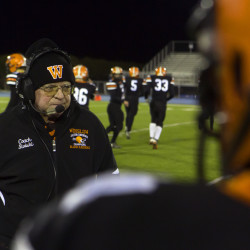 Winslow football aide with MS downplays illness, survives and inspires