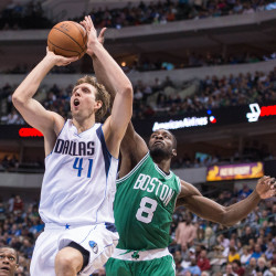 Kidd 3-pointer lifts Mavs to 101-97 win over Celts