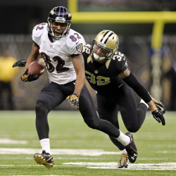 Brees, Saints set records, beat Panthers, 45-17