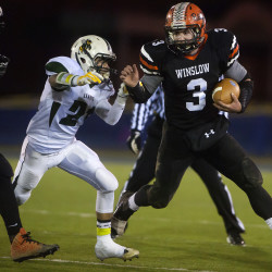 Whittemore, Trenoweth carry Dirigo football team by Winslow