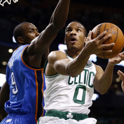 Thunder, without Durant, hold off Celtics 89-84