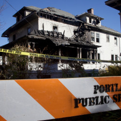 Portlanders raise more than $10,000 for fire victims