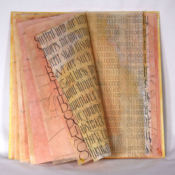 """Mysterious Affinity,"" handmade book by Jan Owen"