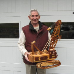 Brooks man the last to make wooden apple ladders
