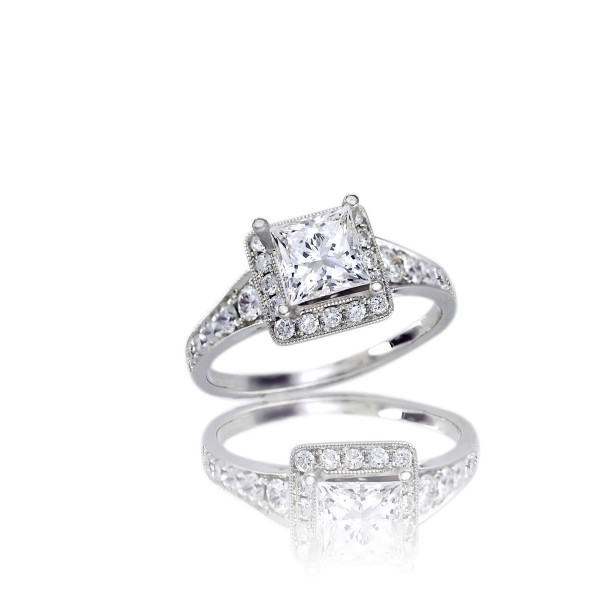 Buy her some bling: The holidays might be the perfect time to put a ring on her finger, or just spoil her with something shiny. 