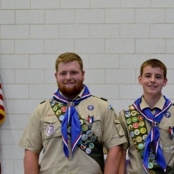 Eddington Scout earns 31 badges