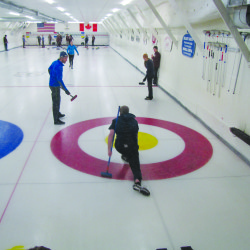 College curling catches on in Maine