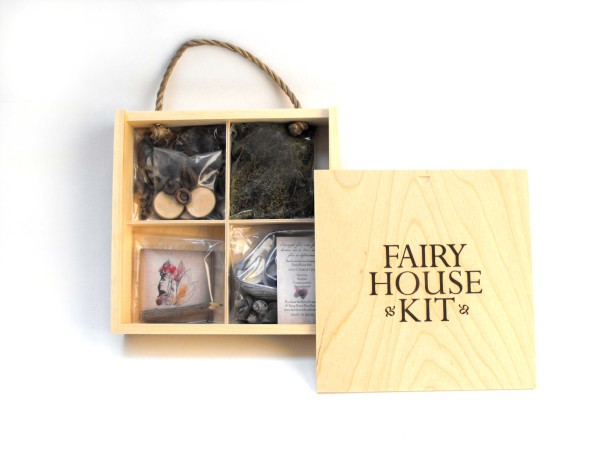 Local author launches Fairy House Kit business — User