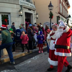 Santa and Mrs. Claus will arrive in downtown Bath on Saturday, November 29th for the Children's Tree Lighting in the Gazebo at Library Park, followed by a visit with Santa and Mrs. Claus in City Hall Auditorium.
