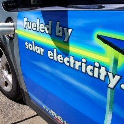 Charging station for electric cars opens, sparks interest in Portland area