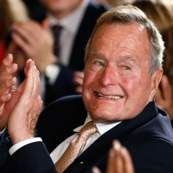 Ex-President George H.W. Bush in Texas hospital