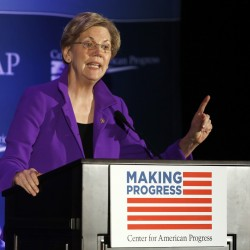 Elizabeth Warren for president?