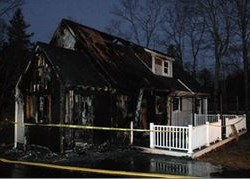 Blaze that damaged Boothbay Harbor home was arson, fire marshal says