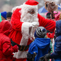 Santa brings holiday cheer to Make-A-Wish children at Bangor Macy's