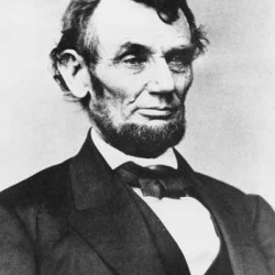The petty source of Lincoln's majestic vision