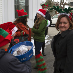 The Bangor Elves strike again, doing good deeds citywide
