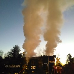 Searsport couple escapes burning home, but building a loss