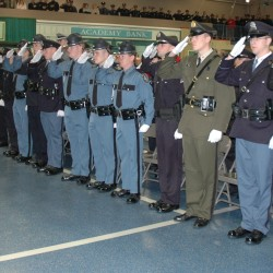 New police officers graduate from Criminal Justice Academy