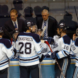 Gendron eager to return struggling Maine hockey program to glory days