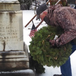 WW II Veteran Honored In Holden Wreaths Across America Ceremony