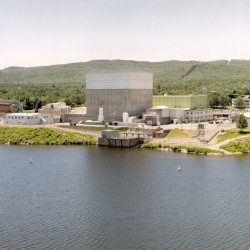 The Vermont Yankee Nuclear Power Plant, which closed Dec. 29, 2014.