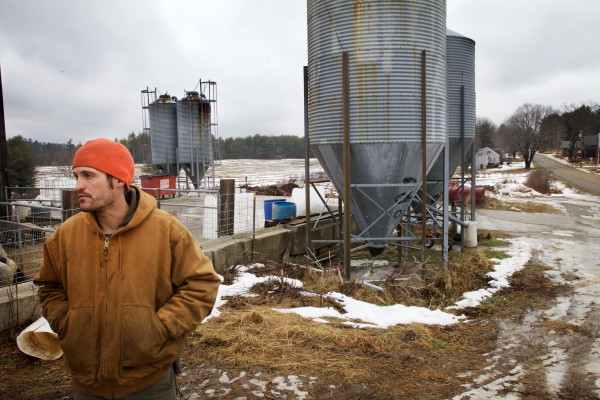 Rufus Percy, 35, and his wife raise pigs and grow grain on a 100-acre farm in Whitefield. &quotIf we want to encourage a lot of young people to get into farming, be it small medium or large, we have to figure out how to make it not only attractive but possible,&quot Percy said on Friday.