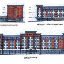 Ocean Properties unveils design for 124-room hotel next to Cross Insurance Center