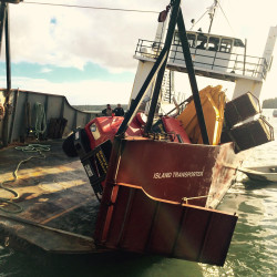 Boats collide off North Haven